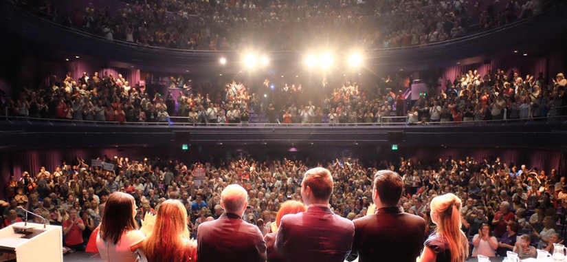Jeremy Corbyn Labour Leadership Rally at The Lowry, Salford on 23 July 2016